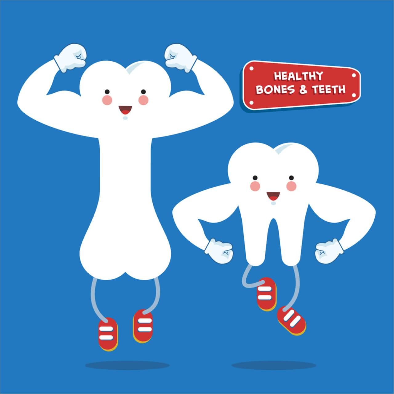 Top 4 Essential Vitamins For Teeth and Bones