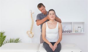 Applying chiropractic manipulations to address tooth pain.